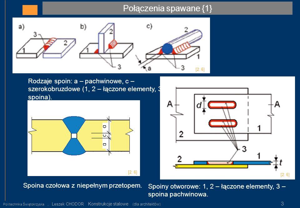 Połączenia spawane {1} [2. 6] Rodzaje spoin: a – pachwinowe, c –szerokobruzdowe (1, 2 – łączone elementy, 3 – spoina).